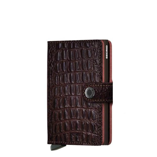 Secrid Miniwallet Portemonnee nile brown
